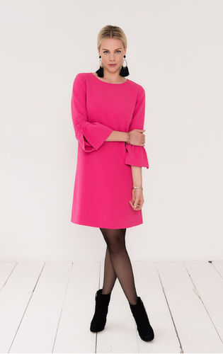 Esqualo-dress-W28-F1814518-Fuchsia
