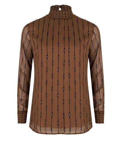 Esqualo-blouse-W29-W19.15708-brown