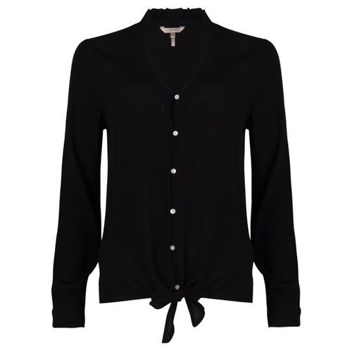Esqualo-blouse-W29-F19.16503-Black