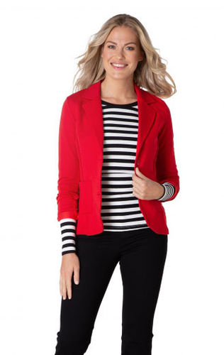 By Beau-Blazer-S29-30913-Red