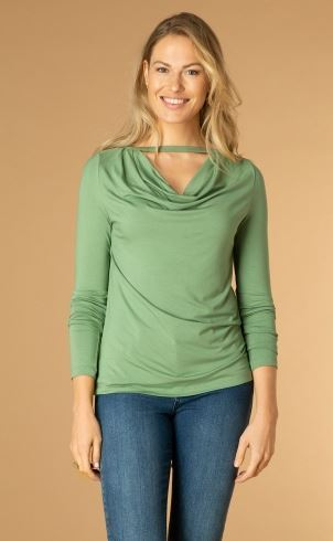 Ivy Beau-Shirt-S31-4000035-Soft Green